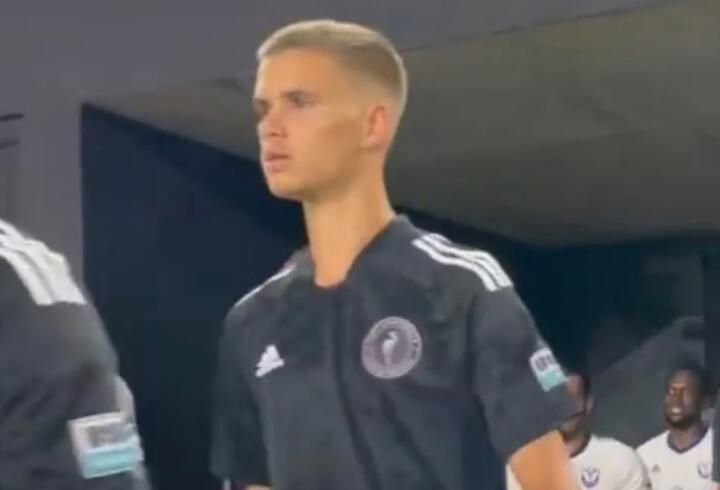 David Beckham'ın oğlu Romeo ilk maçına çıktı