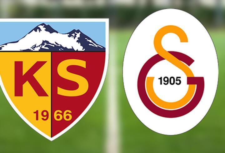 Kayserispor Galatasaray maçı ne zaman, saat kaçta? Kayseri GS maçı hangi kanalda?