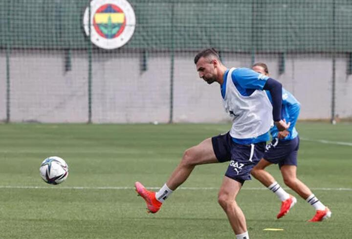 Son dakika... Fenerbahçe'de Serdar Dursun takımla çalıştı
