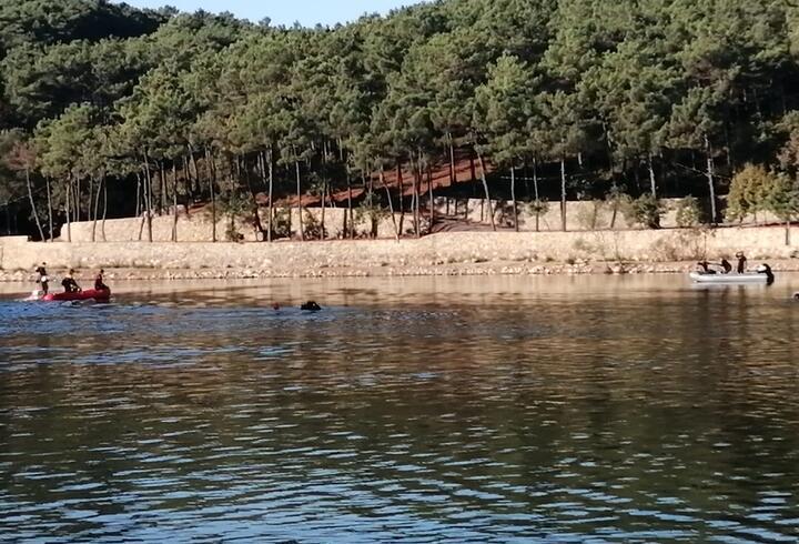 Sancaktepe'de gölette kaybolan kişiyi arama çalışmaları tekrar başladı