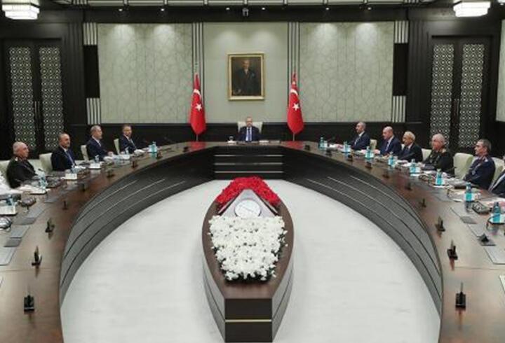 Son dakika haberi: Milli Güvenlik Kurulu toplantısı sona erdi