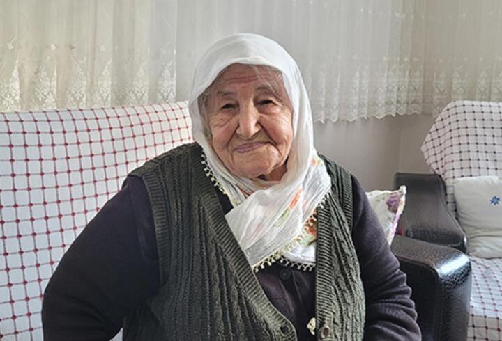 106 yaşında koronavirüsü yendi, 'sağlığımı aşıya borçluyum' dedi