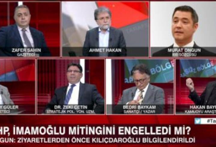 CHP İmamoğlu mitingini engelledi mi? Murat Ongun CNN TÜRK'te açıklama yaptı
