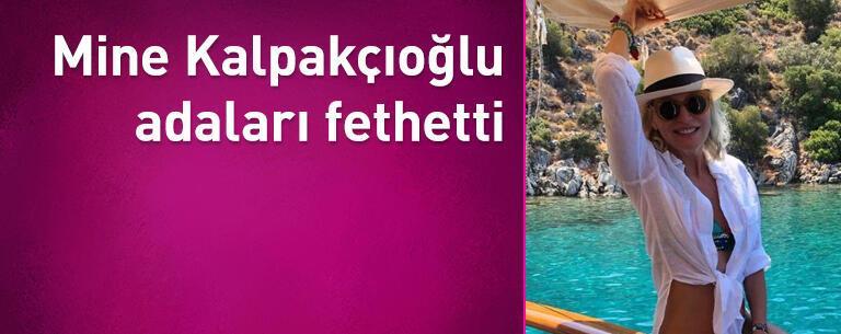 Mine Kalpakçıoğlu adaları fethetti