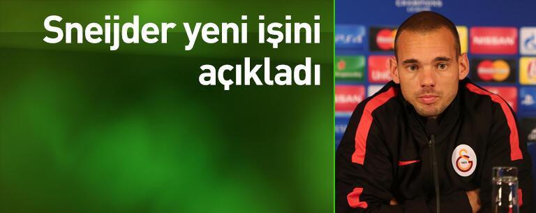 Sneijder yeni işini açıkladı