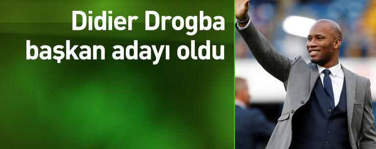 Drogba başkan adayı oldu