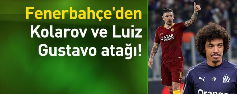 Fenerbahçe'den Kolarov ve Luiz Gustavo atağı!