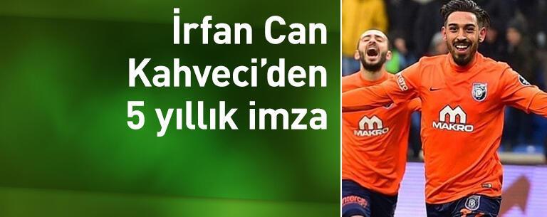 Başakşehir, İrfan Can Kahveci ile sözleşme yeniledi