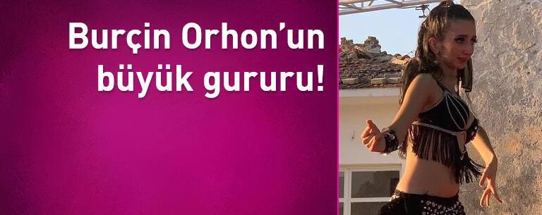 Burçin Orhon'un büyük gururu! Annesinin kızı…