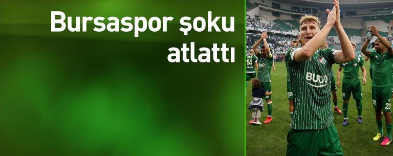 Bursaspor şoku atlattı