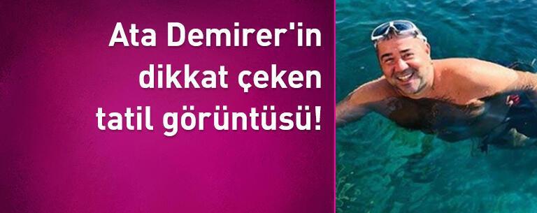Ata Demirer'in dikkat çeken tatil görüntüsü!