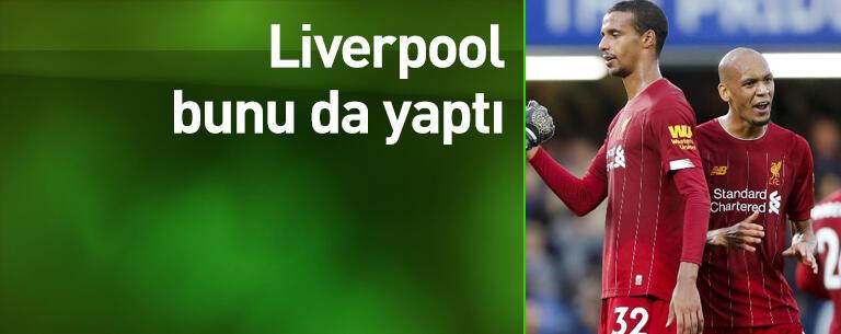 Liverpool bir ilki başardı