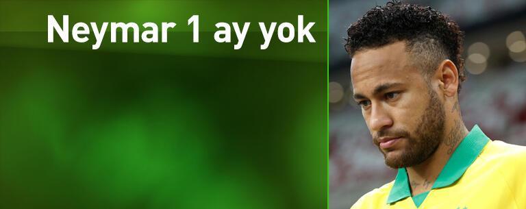 PSG'ye Neymar'dan kötü haber