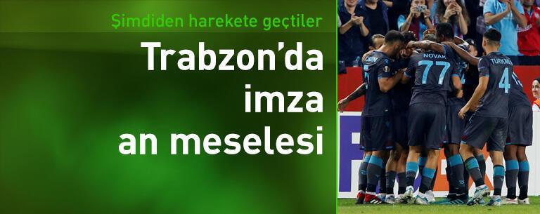 Trabzonspor'da imza an meselesi
