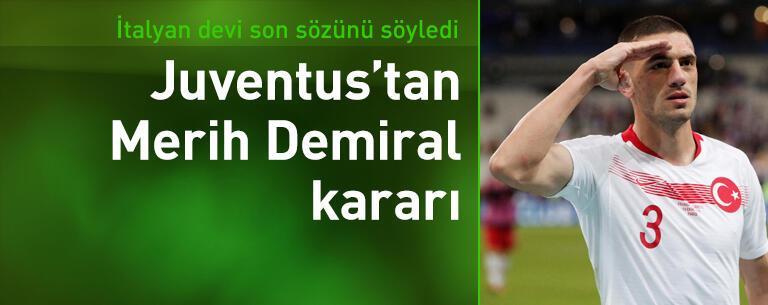 Juventus'tan Merih Demiral kararı!