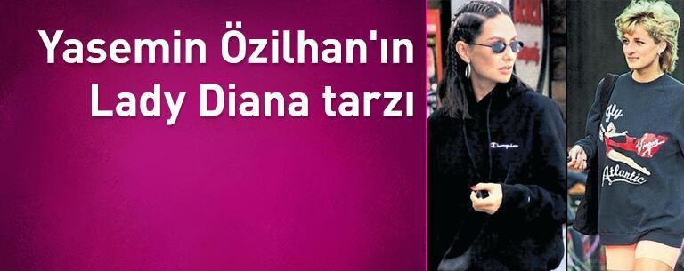 Yasemin Özilhan'ın Lady Diana tarzı