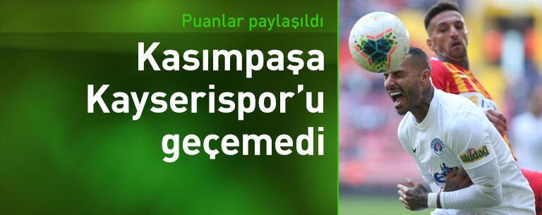 Kayserispor - Kasımpaşa: 1-1