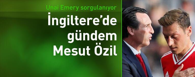 """""""Emery ile Mesut Özil arasında büyük sorunlar olmalı"""""""