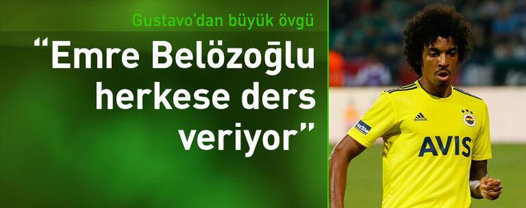 Luiz Gustavo'dan Emre Belözoğlu'na büyük övgü