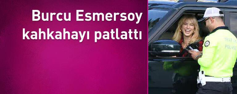 Burcu Esmersoy kahkahayı patlattı