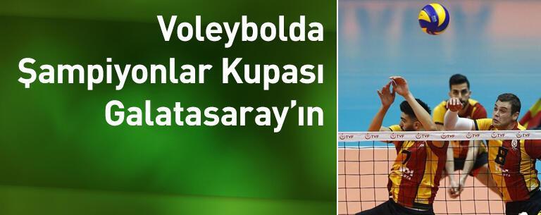 Voleybolda Şampiyonlar Kupası, Galatasaray HDI Sigorta'nın oldu