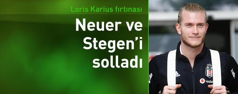 Karius, Neuer ve Stegen'i solladı!