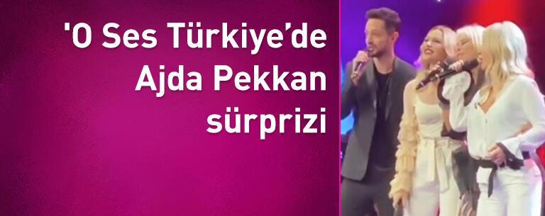 'O Ses Türkiye'de Ajda Pekkan sürprizi
