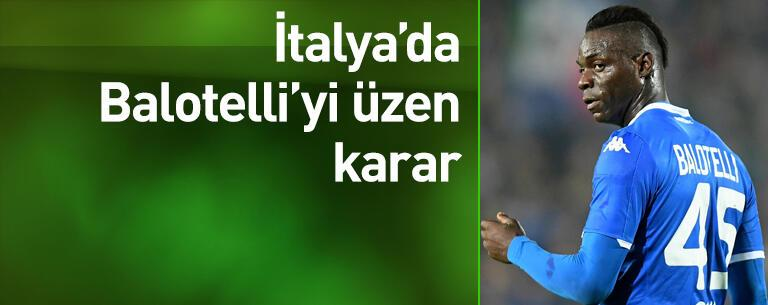 Balotelli'yi üzen karar