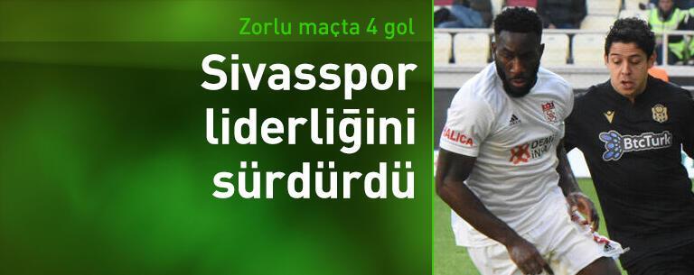 Yeni Malatyaspor - Sivasspor: 1-3