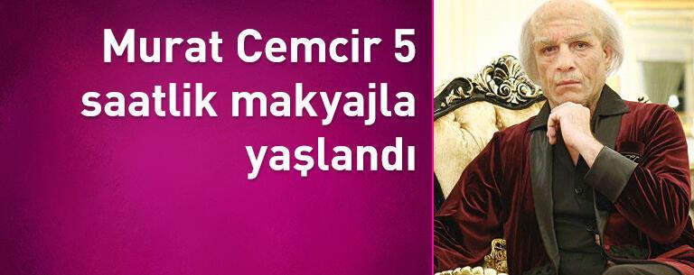 Murat Cemcir 5 saatlik makyajla yaşlandı