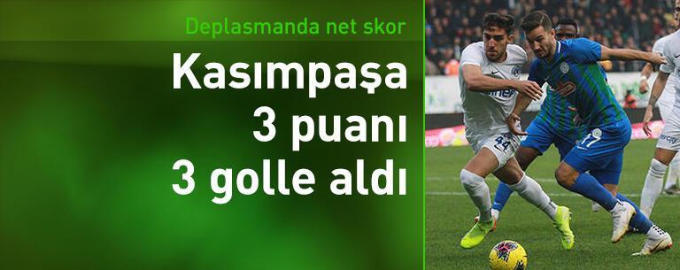 Çaykur Rizespor-Kasımpaşa: 0-3