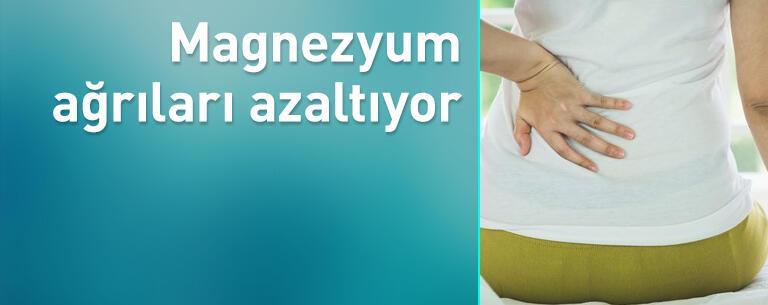 Magnezyum ağrıları azaltıyor