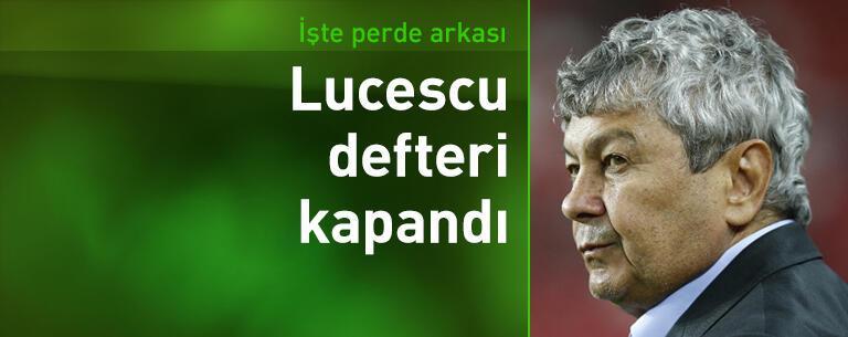 Beşiktaş'ta Lucescu defteri kapandı