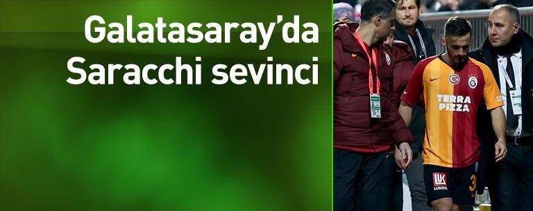 Saracchi takıma döndü
