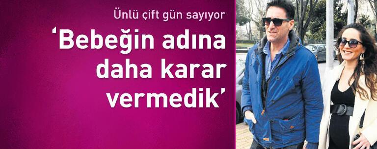 Bekir Aksoy: Bebeğin adına daha karar vermedik