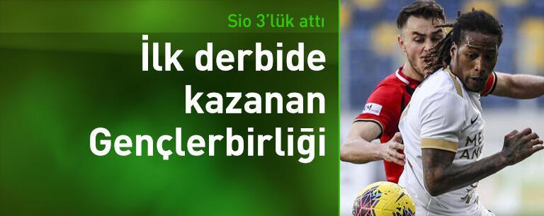 Gençlerbirliği-Ankaragücü: 1-0