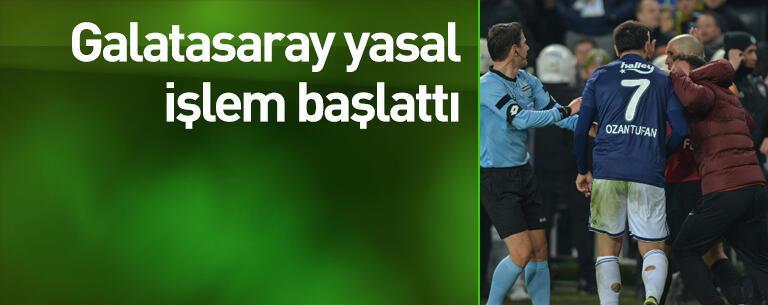 Galatasaray yasal işlem başlattı