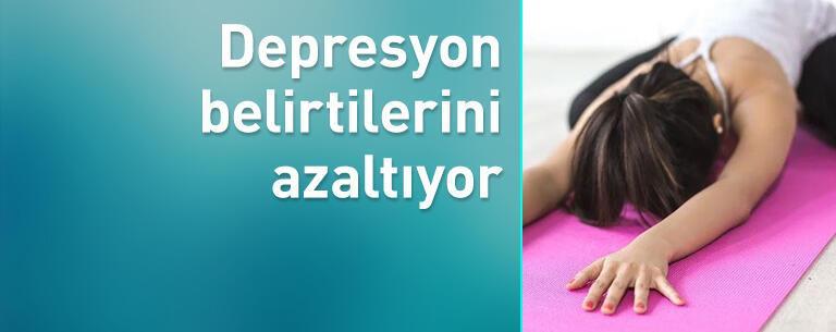 Depresyon belirtilerini azaltıyor