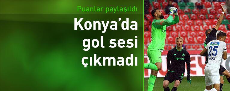 İttifak Holding Konyaspor-Kasımpaşa: 0-0