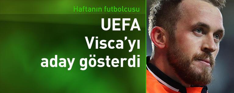 Visca Avrupa Ligi'nde haftanın oyuncusu ödülüne aday