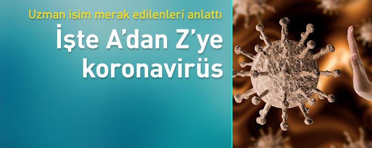 A'dan Z'ye Koronavirüs!