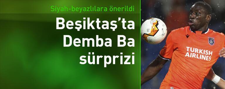 Beşiktaş'ta Demba Ba sürprizi!