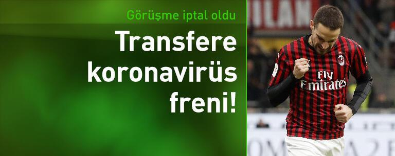 Galatasaray'da transfere koronavirüs freni!