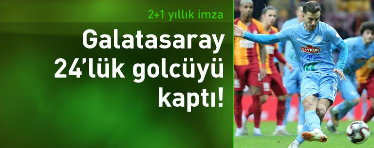 Galatasaray Oğulcan Çağlayan'la anlaştı