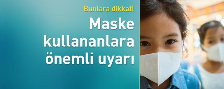 Maskeyi çıkardıktan sonra yüzünüzü nemlendirin