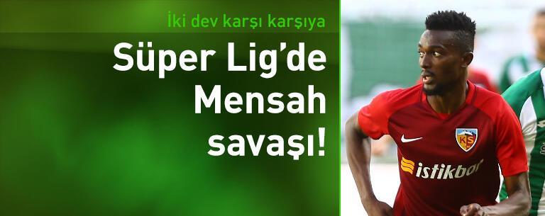 Trabzonspor ve Beşiktaş Mensah için karşı karşıya