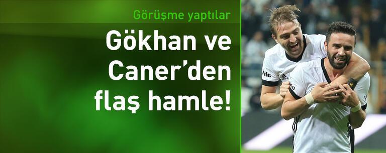 Gökhan Gönül ve Caner Erkin'den flaş görüşme!