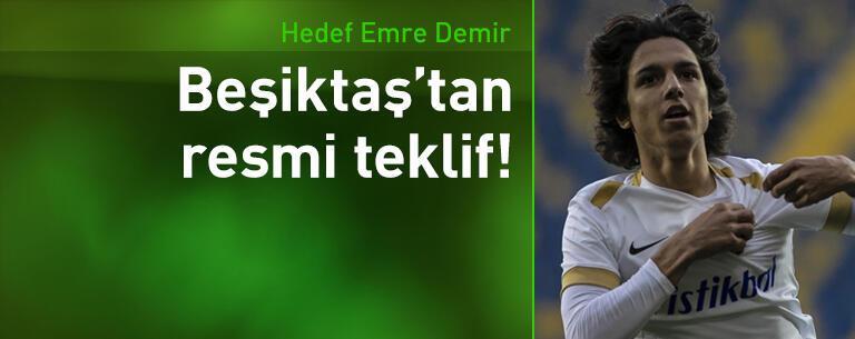 Beşiktaş'tan Emre Demir'e resmi teklif