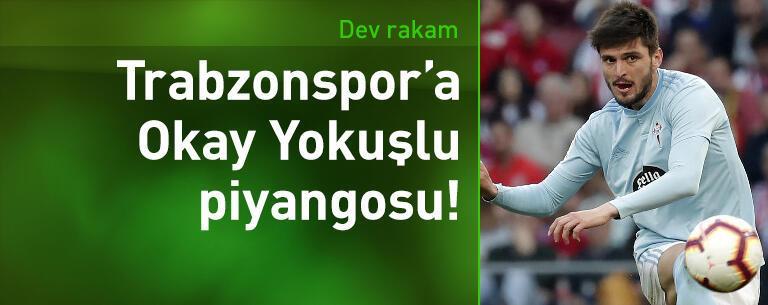 Trabzonspor'a Okay Yokuşlu piyangosu