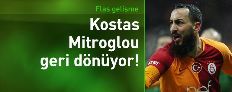 Kostas Mitroglou geri dönüyor!